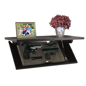 "Personal Security Products 24"" Concealment Shelf Dark Espresso"