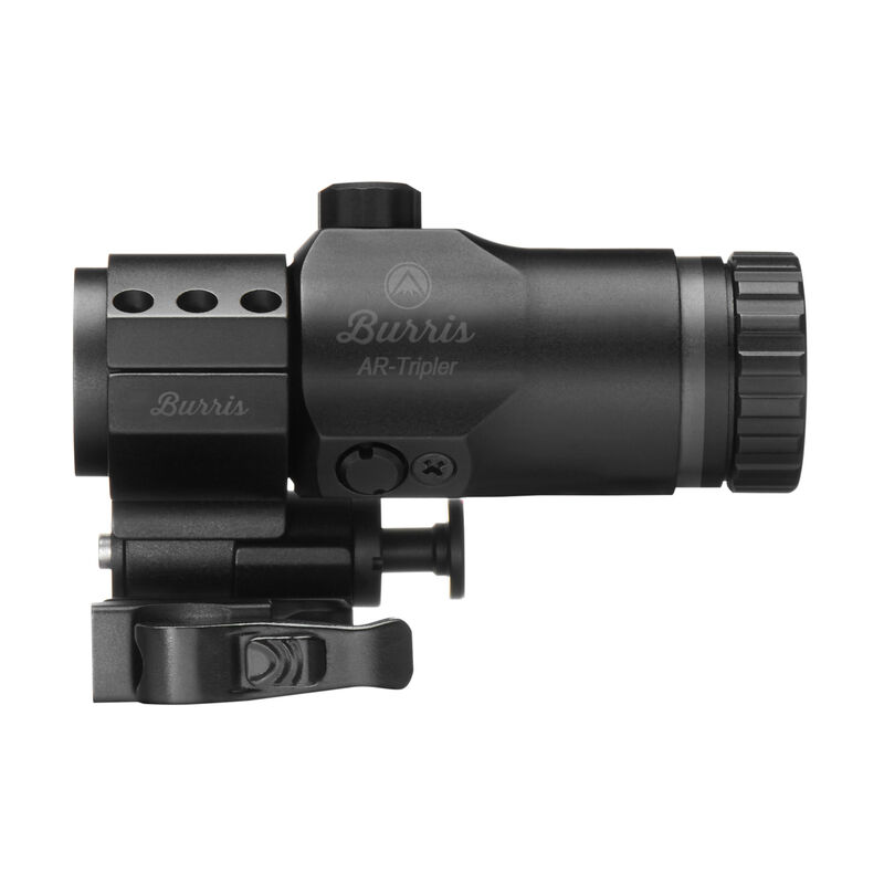Burris AR-Tripler 3x Magnifier 30mm Tube with AR-Quick Detach Pivot Mount Extra High Height Matte Black