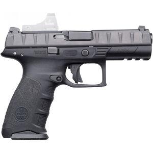 "Beretta APX RDO .40 S&W Semi Auto Pistol 4.25"" Barrel 15 Rounds Integral Red Dot Optic Mount Polymer Frame Black"