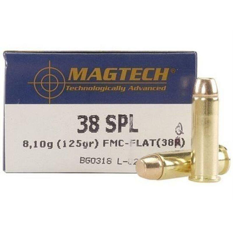 Magtech .38 Special Ammunition 50 Rounds FMJ 125 Grains 38Q