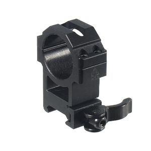 Leapers UTG High Profile Picatinny QD Rings 30mm x 22mm Matte Black RQ2W3224