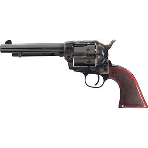"Taylor's & Co The Smoke Wagon .357 Mag Single Action Revolver 5.5"" Barrel 6 Rounds Walnut Grip Case Hardened/Blued Finish"