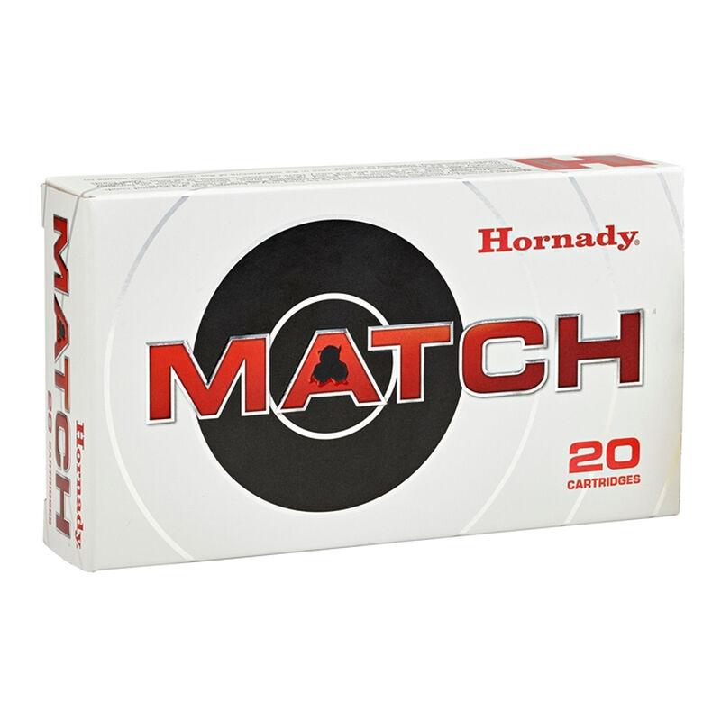 Hornady Match .338 Lapua Magnum Ammunition 20 Rounds 285 Grain ELD Match Polymer Tip Projectile 2745fps