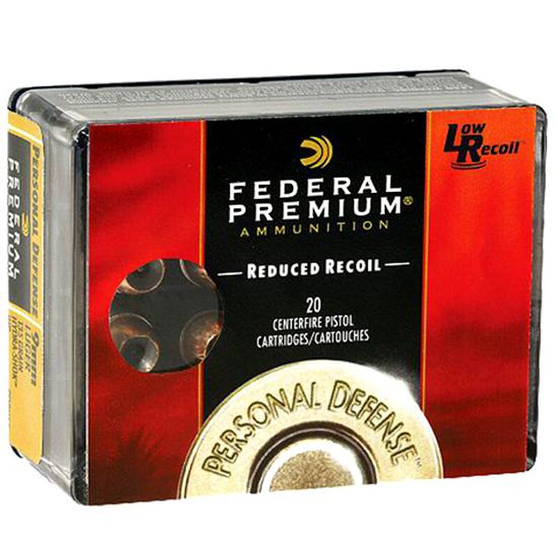 Federal Premium Hydra-Shok .40 S&W Ammunition 20 Rounds JHP 135 Grains PD40HS4H