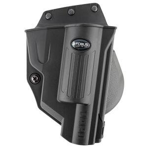 Fobus Evolution Paddle Holster Taurus Judge Public Defender Polymer Frame OWB Right Hand Draw Polymer Construction Black Finish