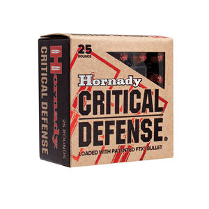 Hornady .380 ACP Ammunition 25 Rounds FTX HP 90 Grains