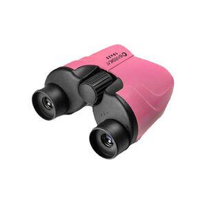 10x25 Pink Porro Binoculars, Blue Lens