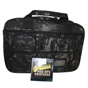 Voodoo Tactical Pro-Ops Tactical Briefcase Nylon Black Multicam 20-0099072000