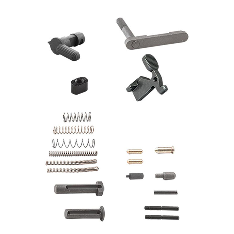 Luth-AR AR-15 Builders Kit Lower Receiver Parts Kit Matte Black