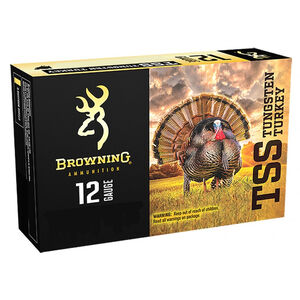 "Browning TSS 12 Gauge Ammunition 50 Round Case 3"" #7 and #9 Tungsten Shot Non Toxic Lead Free 1.75 oz 1000 fps"
