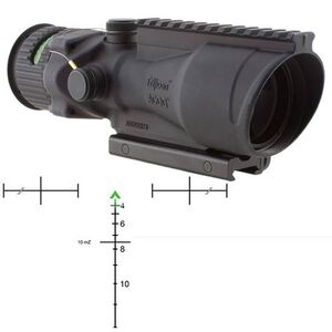 Trijicon ACOG TA648-308G 6x48 Riflescope Illuminated Green Chevron .308 Ballistic Reticle 1/4 MOA Aluminum Matte Black with TA75 Mount and M1913 Rail TA648-308G