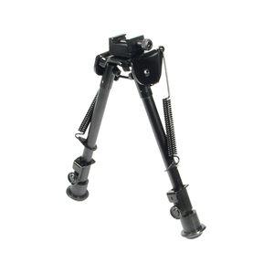 "Leapers UTG Tactical OP Bipod Adjustable 8.3"" to 12.7"" Aluminum Black TL-BP88"