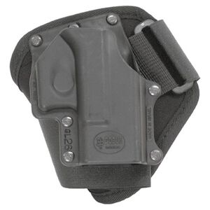 "Fobus Ankle Holster Right Hand Black 3.25"" Fits Glock 26,27,33 GL26A"