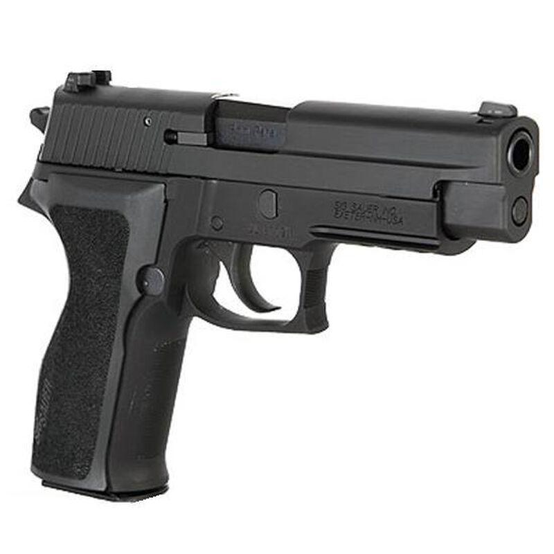 "SIG Sauer P226 Nitron Semi Auto Pistol .40 S&W 4.4"" Barrel 10 Rounds SIGLite Sights SIG Rail E2 Grips Stainless Steel Slide/Alloy Frame Nitron Black Finish"