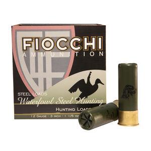 """Fiocchi 12 Gauge Ammunition 250 Rounds 3.00"""" #1 Steel Shot 1.20 oz."""