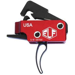 Elftmann AR-15 Service Trigger Adjustable Curved