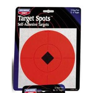 "Birchwood Casey Self Adhesive 6"" Target Spots 10 Pack 33906"