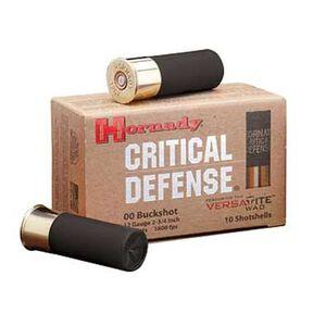 """Hornady 12 Gauge Ammunition 10 Rounds 2.75"""" 00 Buck 8 Pellets 86240"""