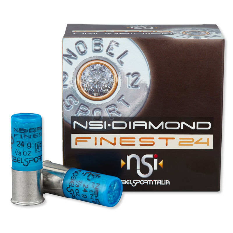 "NobelSport Quattro Finest 12 Ga 2.75"" #9.5 Lead .875 oz 25 Rounds"