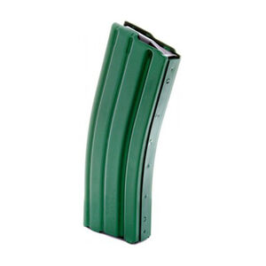 DURAMAG AR-15 30 Round 5.56 NATO Magazine Aluminum with Green Finish