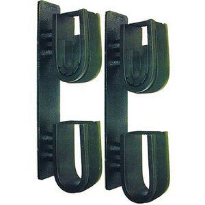 Double-Hook Dual-Lock Mount Gun Rack 2-Pack