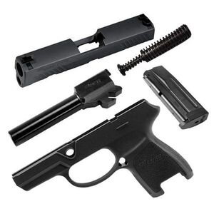 SIG Sauer P320 Sub-Compact Caliber X-Change Kit 9mm Luger 12 Rounds SIGLITE Night Sights Nitron Finish Matte Black