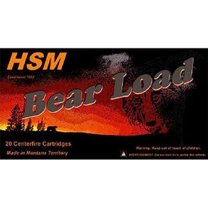 HSM .44 Remington Magnum Ammunition 20 Rounds WFN HCGC 305 Grains