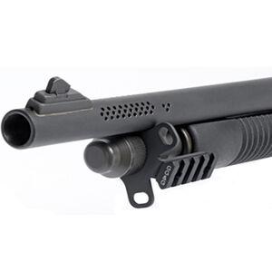 GG&G Mossberg 590 Sling And Flashlight Combo Mount Steel/Aluminum Matte Black GGG-1655