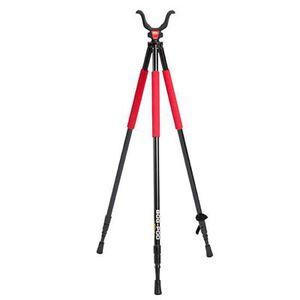 "BogGear RLD Series Tripod Adjustable 22"" to 68"" Aluminum Red/Black 735533"