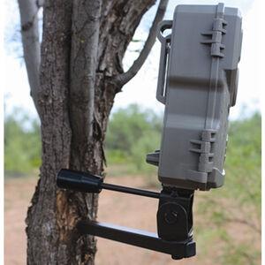"GSM Outdoors HME Better Trail Cam Holder 1/4""x20 Threaded Mount Adjustable Pan/Tilt Black"