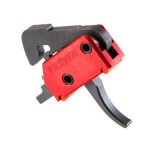 Patriot Ordnance Factory USA AR-15 Drop In Trigger System 2 Stage 4.5lb Curved Trigger Shoe Aluminum Housing Anodized Finish