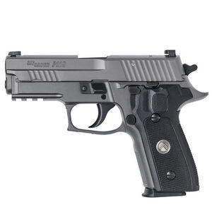 "SIG Sauer P229 Legion Compact Semi Auto Pistol 9mm Luger 3.9"" Barrel 10 Rounds X-Ray Square Sights SIG Rail G10 Grip Alloy Frame PVD Gray Finish"