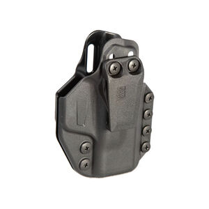 BLACKHAWK! Stache IWB Base Kit Ruger EC9/LC9/LC380 Ambi Holster Polymer Black