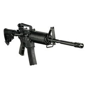"""DPMS AP4 Semi Auto Carbine .223 Rem/5.56 NATO 30 Rounds 16"""" M4 Barrel 1:9 Twist A3 Flat Top Upper with Removable Carry Handle and Rear Sight Black M4 Buttstock"""