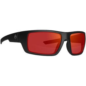 Magpul Apex Eyewear Ballistic Glasses Gray Lens Red Mirror Black Frame