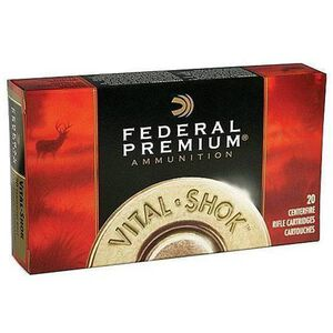 Federal V-Shok 7mm WSM 150 Grn Trophy Copper 20 Rnd Box