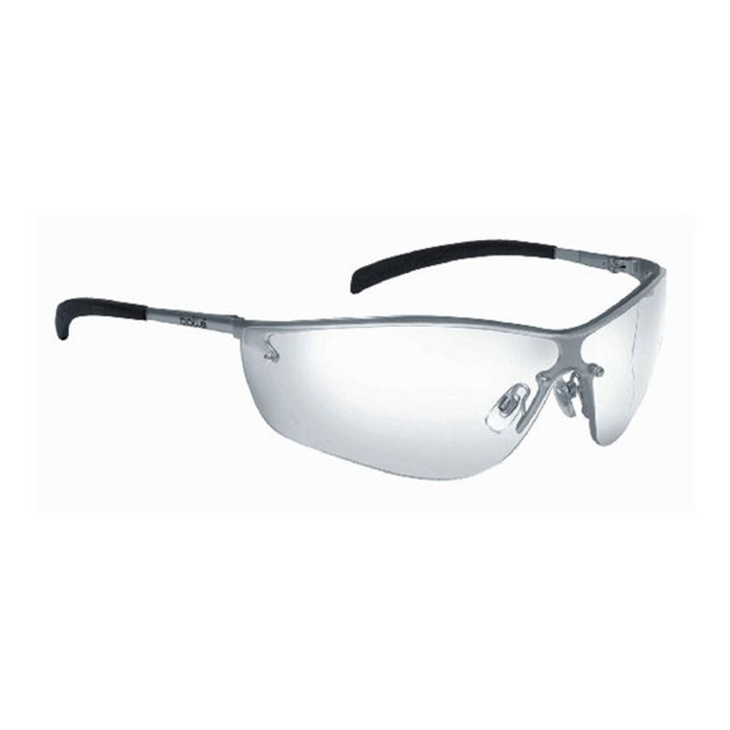 Bolle Silium Safety Glasses Metal Frame with Clear Lens