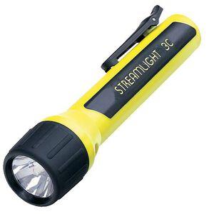 Streamlight 3C ProPolymer LED Flashlight 85 Lumen No Batteries Tail Cap Switch Pocket Clip Polymer Yellow 33254