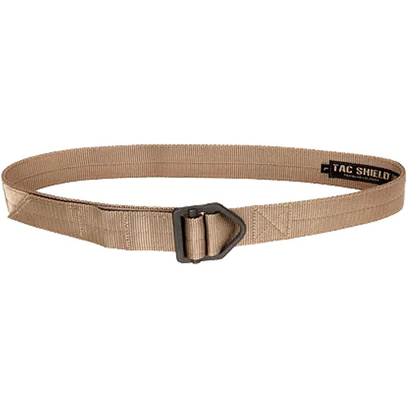 "TAC SHIELD Tactical Riggers Belt 1.75"" Small 30-34"" Coyote"