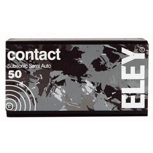 Eley Contact Sub-Sonic .22 LR 42 Grain RN 50 Round Box