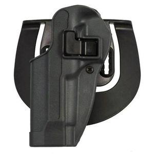 BLACKHAWK! SERPA Sportster Paddle Holster For GLOCK 26/27/33/39 Left Hand Polymer Black 413501BK-L