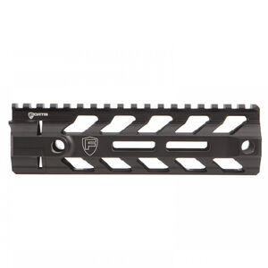 "Fortis Manufacturing REV II AR-15 Free Float Rail System M-LOK Compatible 7"" Aluminum Anodized Black"