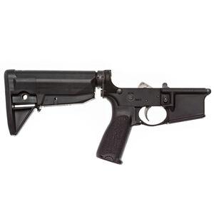 Bravo Company USA AR-15 Complete Lower Receiver Multi-Caliber Mod 3 Pistol Grip/Mod 0 Stock Matte Black