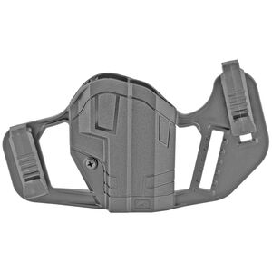 Uncle Mike's Apparition OWB/IWB Glock 43X and Springfield Hellcat Ambidextrous Holster Polymer Black