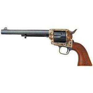 "Cimarron US Cavalry Revolver Single Action Army .45 LC 7.5"" Barrels 6 Round Steel Blue Wood"