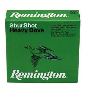 """Remington ShurShot Heavy Dove 20 Gauge Ammunition 250 Rounds 2.75"""" #7.5 Lead 1 Oz RHD2075"""