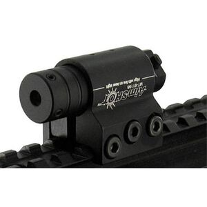 AimSHOT 5mW Red Laser Sight with Rail Mount Black