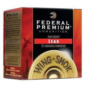 "Federal Wing-Shok 16ga 2-3/4"" #4 Shot 1-1/8oz 250 Rnd Case"