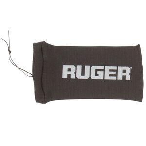 """Allen Ruger 12"""" Silicone Treated Handgun Sock Black"""