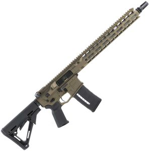 "Radian Weapons System Model 1 AR-15 Semi-Auto Rifle .223 Wylde 14.5"" Barrel 16"" OAL 30 Rounds Billet Upper/Lower SilencerCo ASR Muzzle Device Free Float M-LOK Hand Guard Brown Finish"